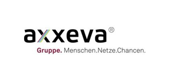 Logo axxeva Gruppe